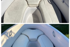 boat furniture repairs before & after