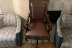 leather chair - after