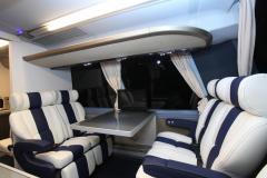 RV leather interior