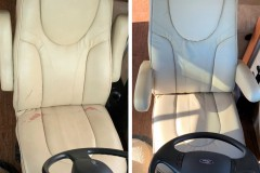 before and after driver's seat