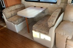 RV leather and fabric seats