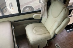 RV leather seats