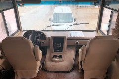 RV leather driver seats