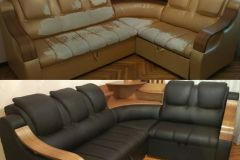 sofa repair before and after