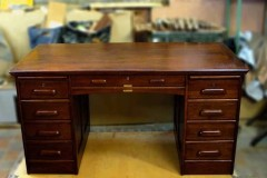 Wood furniture repair desk